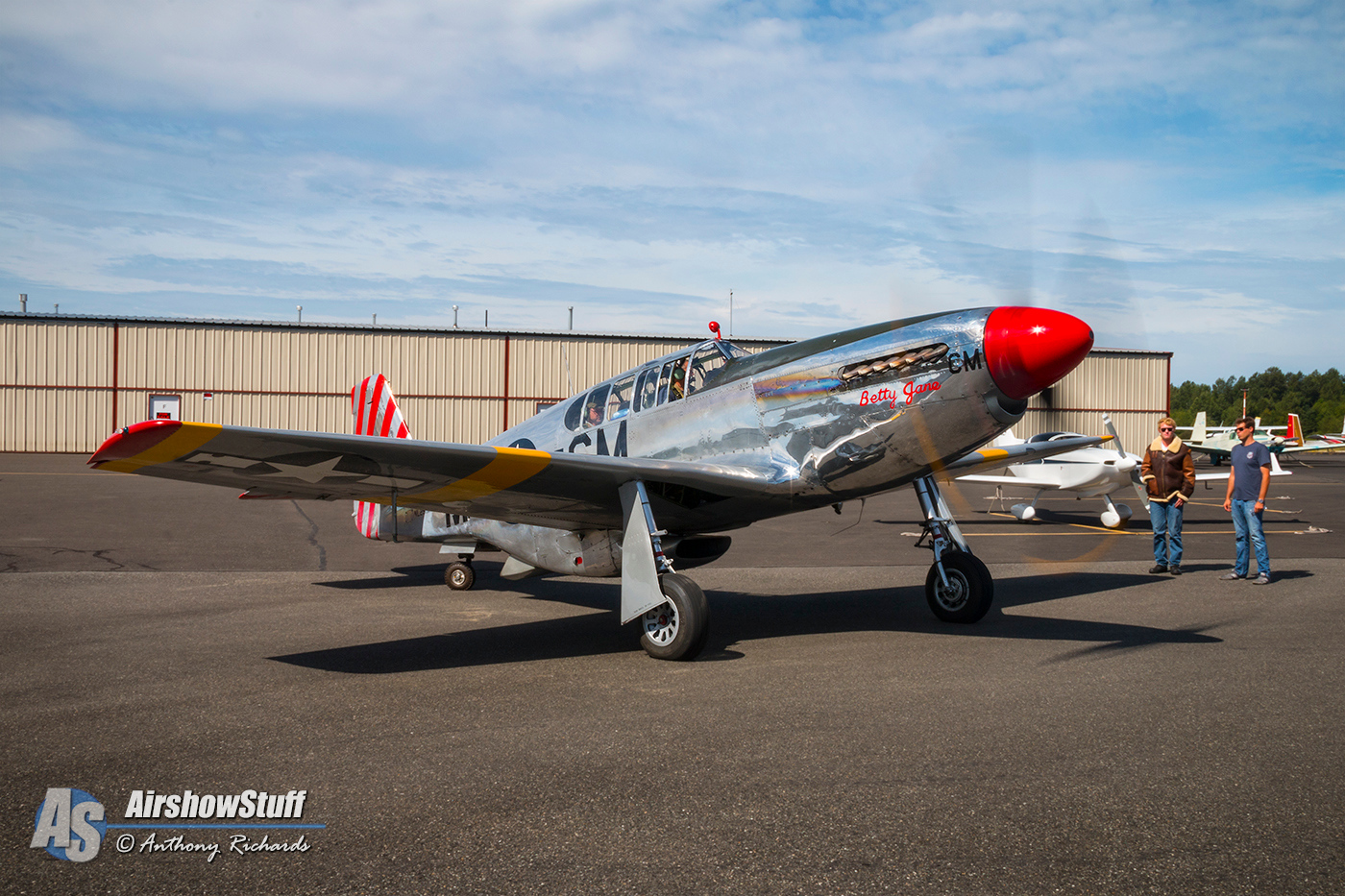 Collings Foundation Wings of Freedom Tour 2015 - P-51 Mustang 'Betty Jane'
